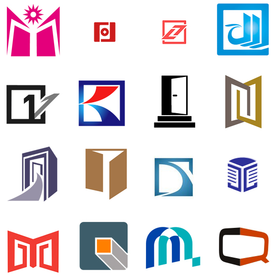 200 doors and windows logo design examples for inspiration