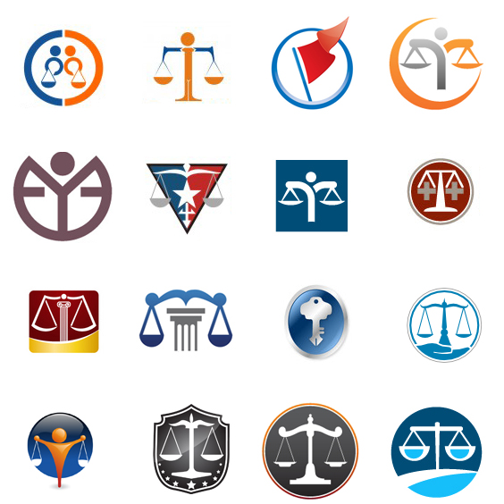 Fantastically Clever Attorney-Law Logos