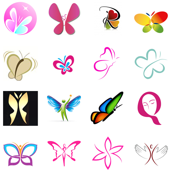 butterfly logos butterfly company logo images logoinlogo