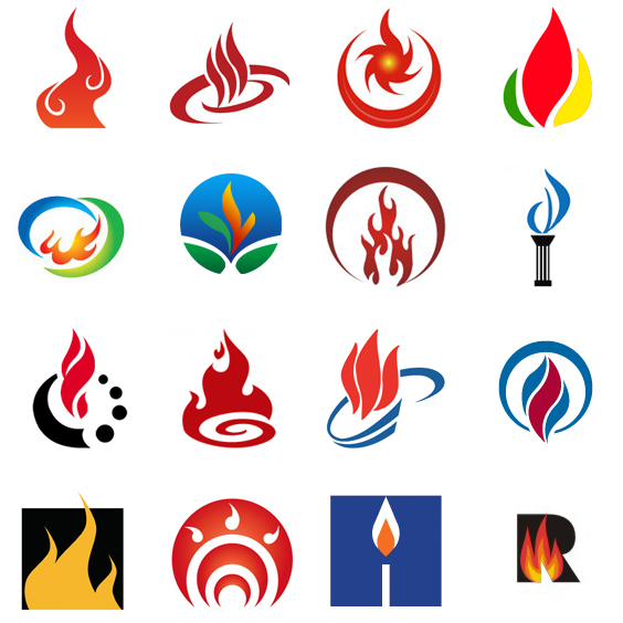 200 (More) Creative Fire Logo Designs