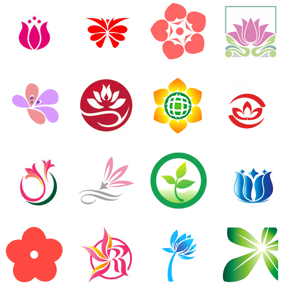 200+ Cool & Creative Flower Logo Design Inspirations