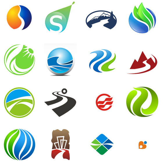 Company Logo Design Ideas corporate logo Super Creative River Logo Designs