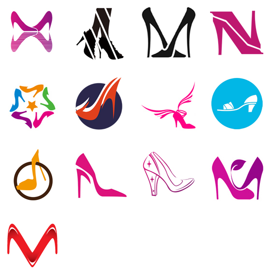 200 (More) Creative Shoe Logo Designs