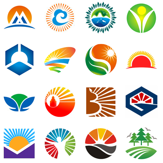 examples of sun logo design for inspiration - Company Logo Design Ideas
