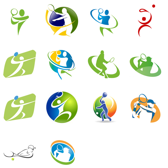 200+ Latest and Creative Tennis Logo Designs for Design Inspiration