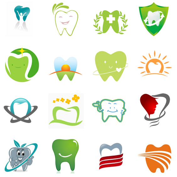 200 Tooth Logos to Increase Your Appetite