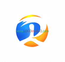 great R Business Logo Image