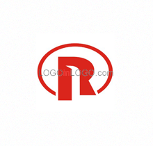 R Website Logo Image